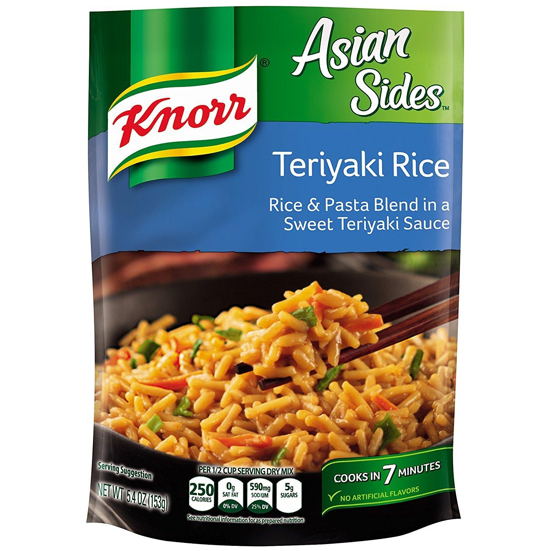 Knorr Rice Side Dish, Asian Teriyaki, 5.4 Oz (Pack of 8)