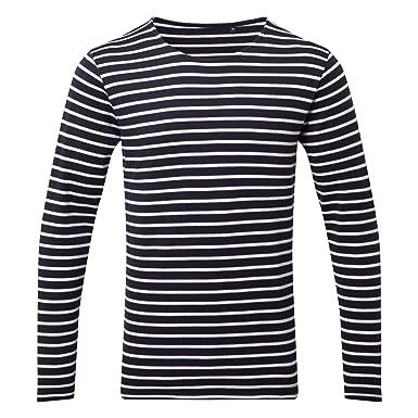 34821772f02d Amazon.com  Asquith   Fox Mens Mariniere Coastal Long Sleeve T-Shirt ...