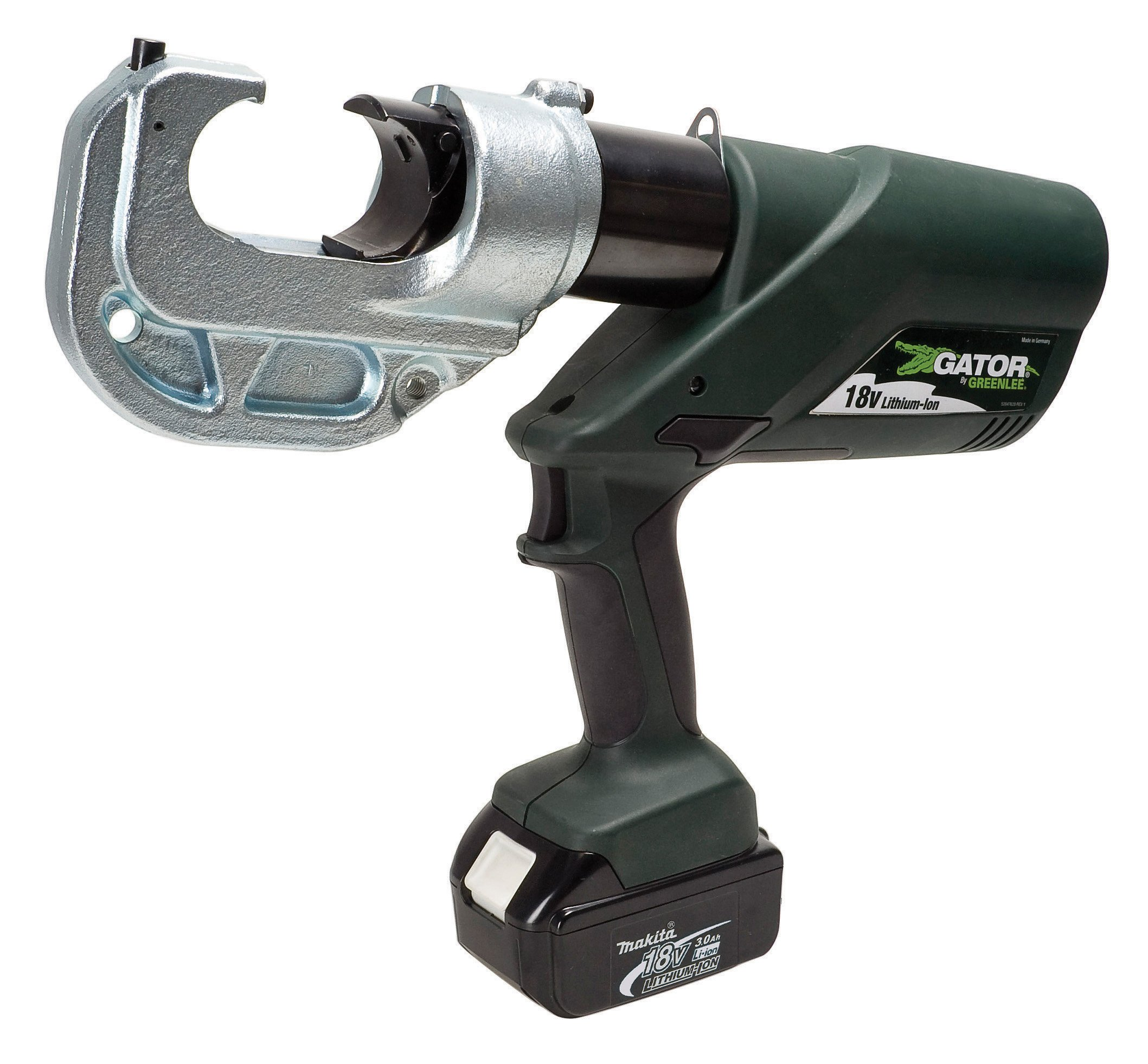 Greenlee EK1240KL11 Gator Battery-Powered 12 Ton Kearney Head Crimping Tool with 120-Volt Charger