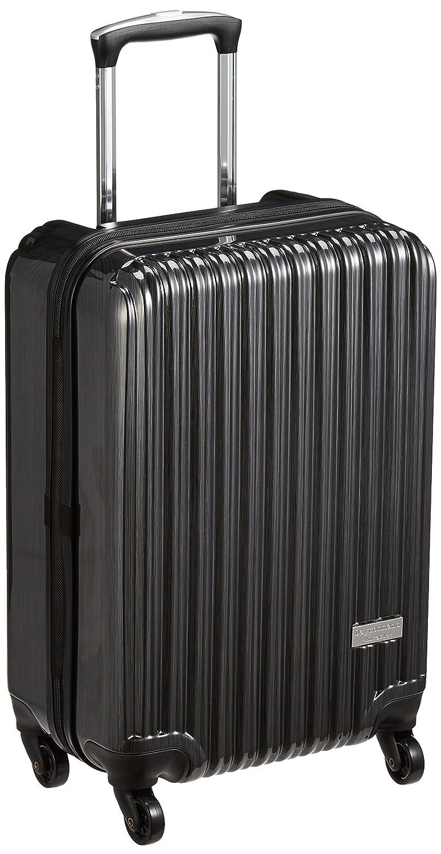 [デイコマンド] スーツケース等  機内持込可 保証付 36L 55cm 2.9kg DC-0745-50 B06Y23BLCC  ブラックヘアーライン