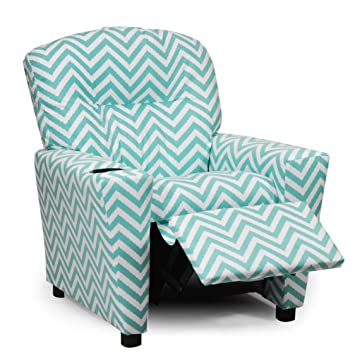 Prime Amazon Com Teal Toddler Recliner Chair W Cupholder Cute Gmtry Best Dining Table And Chair Ideas Images Gmtryco