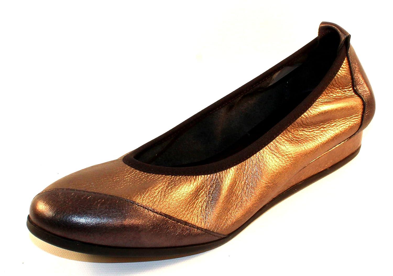 Women's Piazym In Basalt Shade Metallic Leather/Micas Shade Metallic Leather - Pewter/Bronze - Size 42 M
