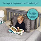 [2-Pack] hiccapop Inflatable Bed Rail for