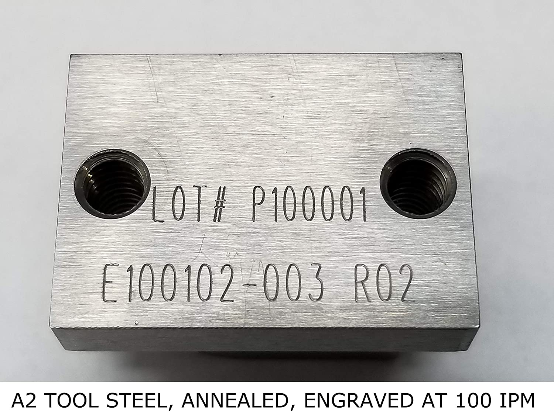 Spring Loaded 1//2 Shank x 120 Degree Diamond Drag Engraver