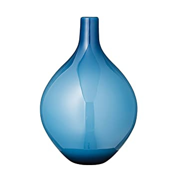 Buy Blue Glass Vase Online At Low Prices In India Amazon