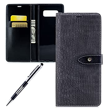Coque Samsung Galaxy Note 8,Etui Samsung Galaxy Note 8,JAWSEU Coque Etui  Housse 9ab60dec95e2