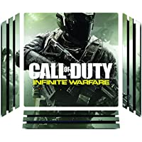 Elton Call-of-Duty-Infinite-Warfare Theme 3M Skin Sticker Cover for PS4 Pro Console and Controllers