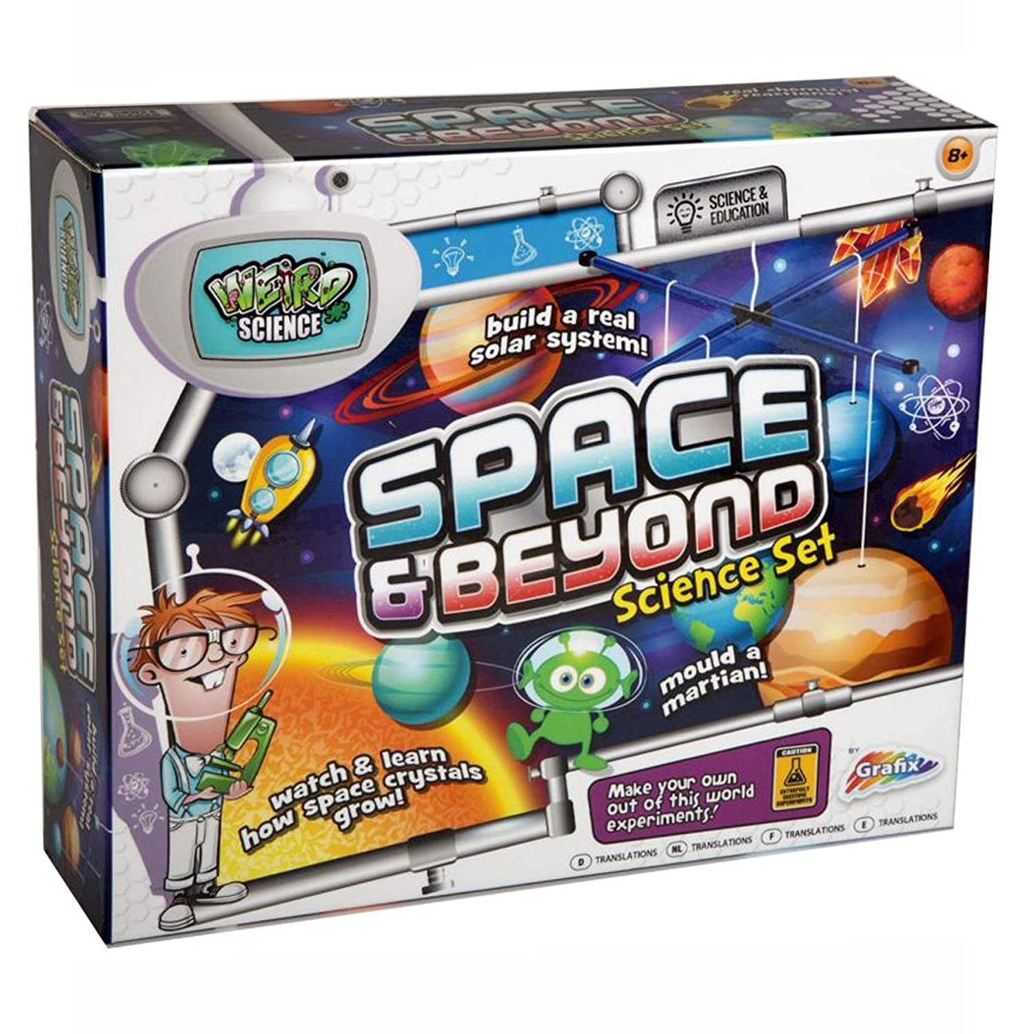Widdle Gifts Ltd Space And Beyond Science Set - Make A Solar System Mobile 8370