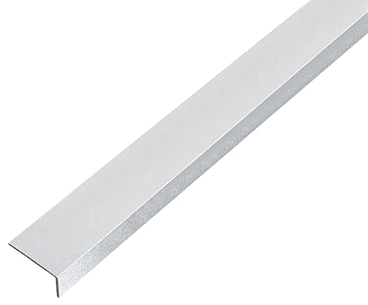 Perfil en ángulo (aluminio, autoadhesivo, 433574: Amazon.es: Bricolaje y herramientas