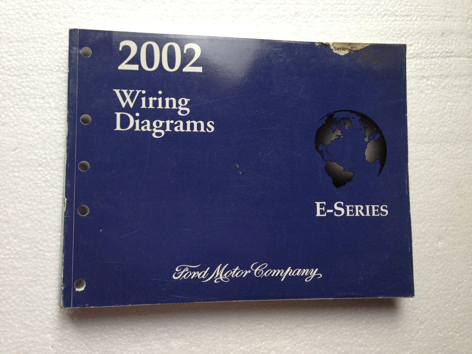 2002 ford e-series wiring diagrams (econoline, e-150 to e-550): ford motor  company: amazon com: books