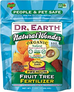 product image for Dr. Earth 70656 1 lb 5-5-2 MINIS Natural Wonder Fruit Tree Fertilizer