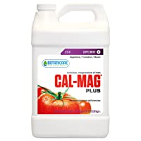 Botanicare HGC732115 Cal-Mag Plus, A Calcium, Magnesium, And Iron Plant Supplement, Corrects Common Plant Deficiencies, Add To Water Or Use As A Spray, 2-0-0 NPK, 1-Gallon