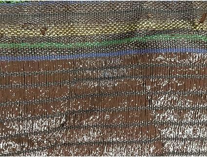 Jardin202 1 m. de Ancho - Malla de Ocultacion Marron - Rollo 100m Premium: Amazon.es: Jardín