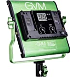 GVM Dimmable Bi-color LED Video Panel Light Variable 2300K~6800K With Digital Display For Studio. CRI97+ TLCI97 + & Brightness of 10~100% Metal Housing for Video Photography Lighting 29W