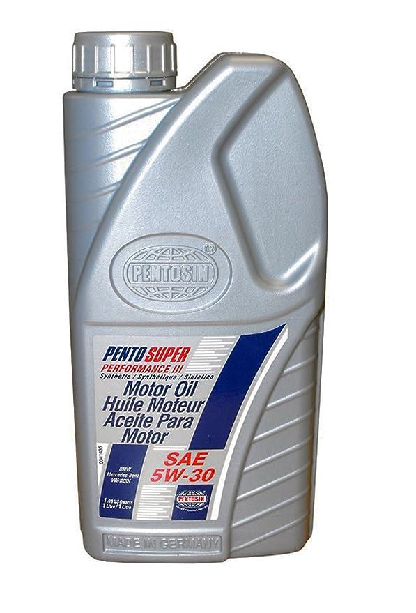 Amazon.com: Pentosin 8078106-C Pento Super Performance III 5W-30 Synthetic Motor Oil - 1 Liter (Case of 12): Automotive