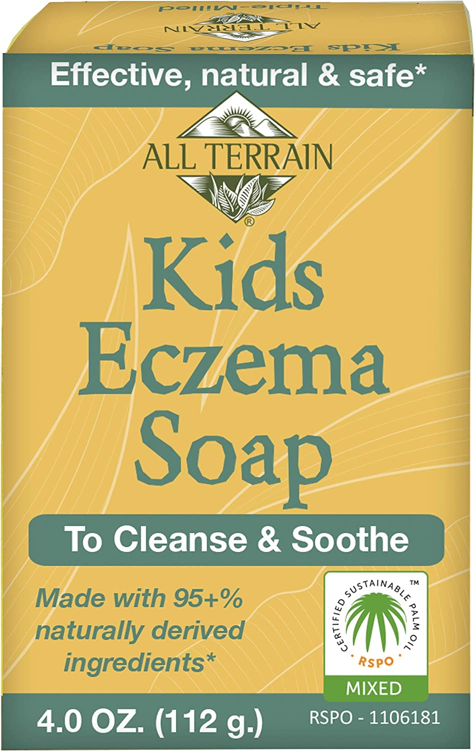 All Terrain Kids Eczema Relief, To Cleanse & Soothe Kids' Itchy & Irritated Skin