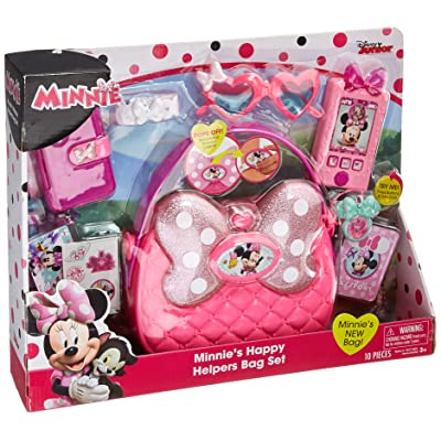 United Pacific Designs Minnie Mouse Happy Helpers Bag Set Standard: Toys & Games