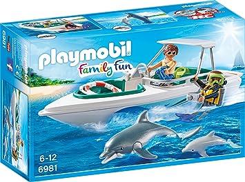 Playmobil 6981 Tauchausflug Mit Sportboot Amazon De Spielzeug
