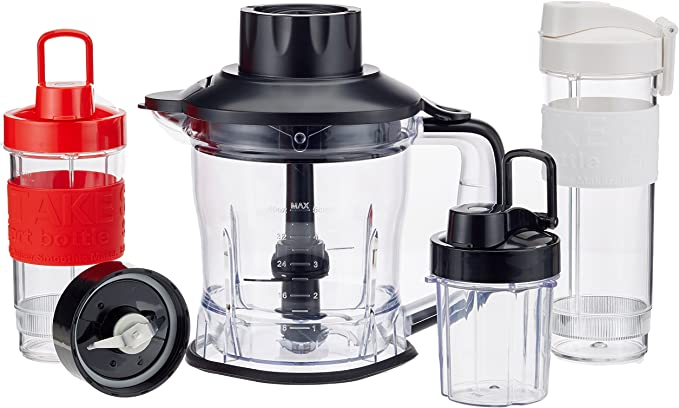 Concept Electrodomésticos SM3390 Batidora smoothie con 3 botellas ...