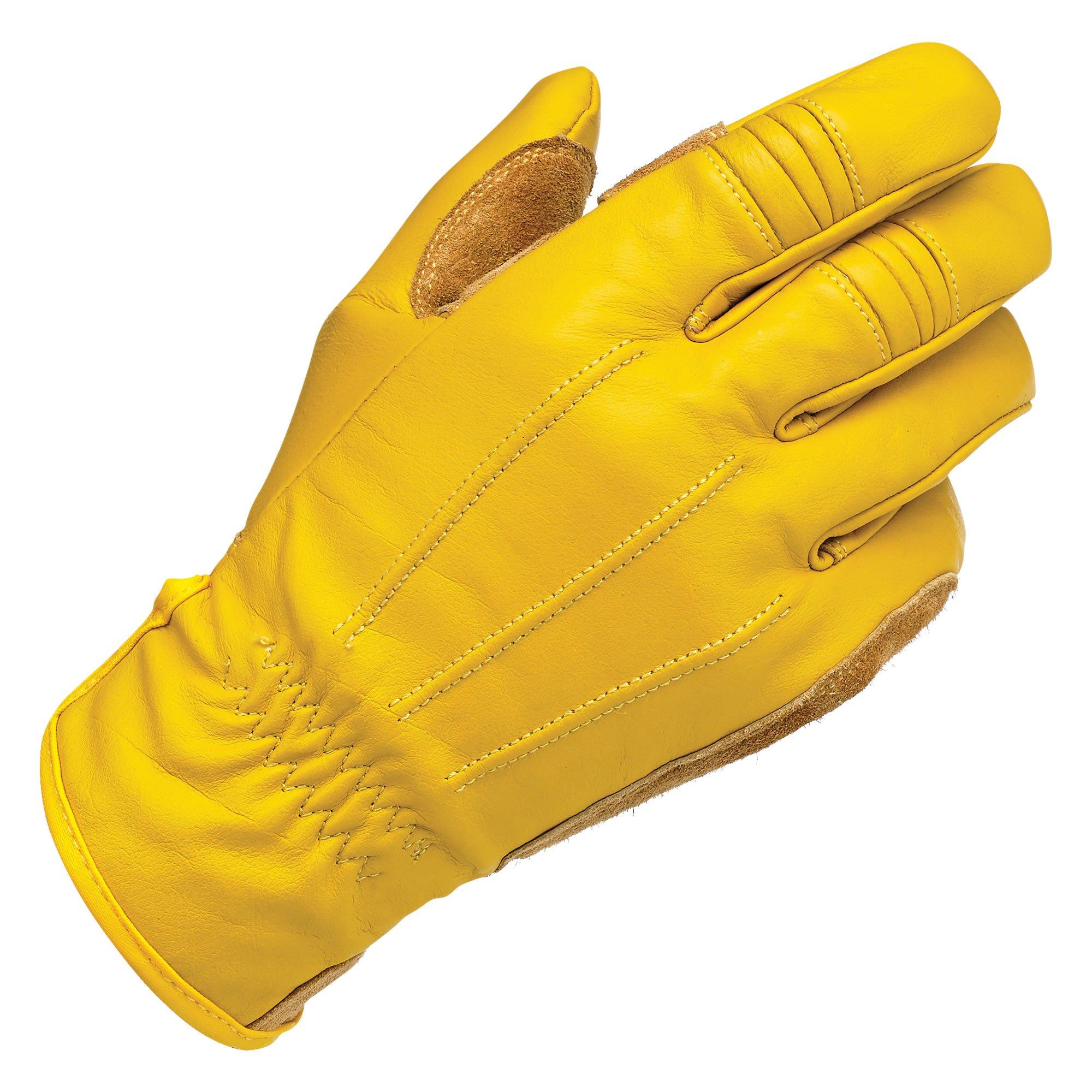 Biltwell Work Gloves (Gold, XX-Large)
