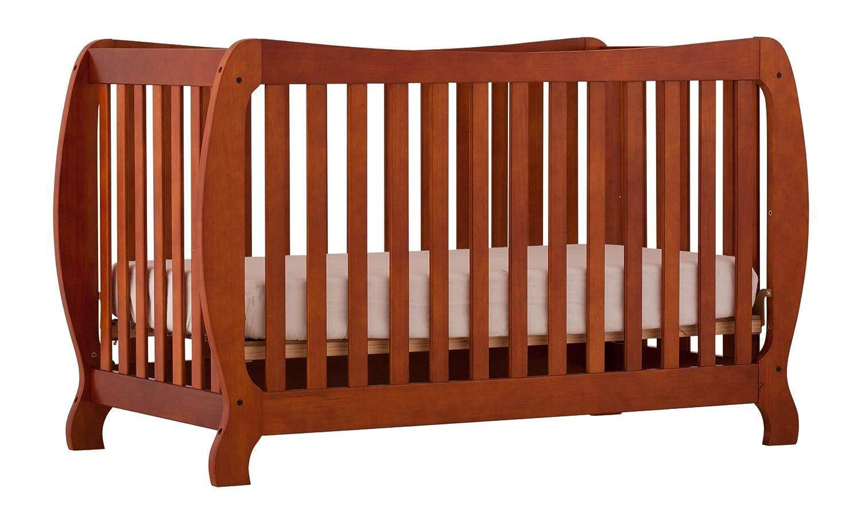 amazoncom stork craft monza ii fixed side convertible crib cognac by storkcraft monza crib cognac baby