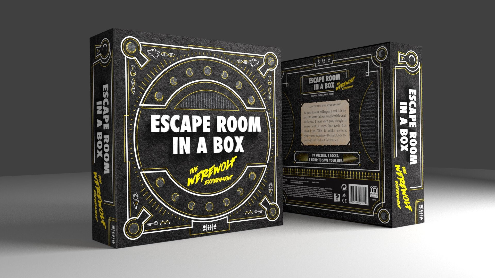 Escape Room in a Box: The Werewolf Experiment by Mattel Games (Image #2)