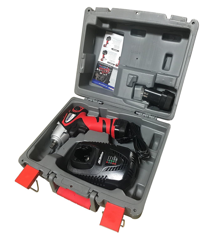 2 battery inlcuded Durofix Inc 974 in-lbs ARI12583 ACDelco ARI1258-3 Li-ion 12V 3//8-inch Impact Wrench