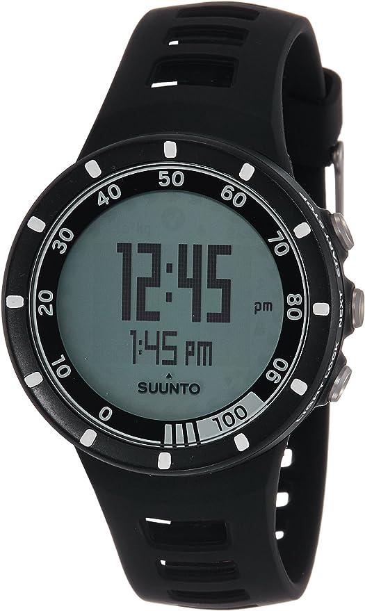 Suunto Quest Black - Reloj Deportivo (Dot-Matrix, 42,7 x 42,7 x 13 ...