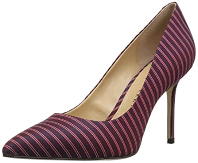 b5a24717f2 Katy Perry Women's The Sissy Pump, Mulberry, 5.5 Medium US