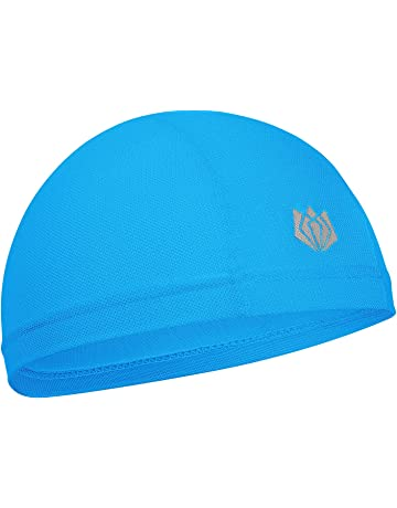 df49b2f1d53 FitsT4 Active Sweat-Wicking Helmet Liner Cycling Skull Cap with UV  Protection   Mesh Cooling