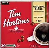 Tim Hortons Single Serve Coffee Original Blend K-Cup Pods for Keurig Coffee Makers (30 K-Cups)