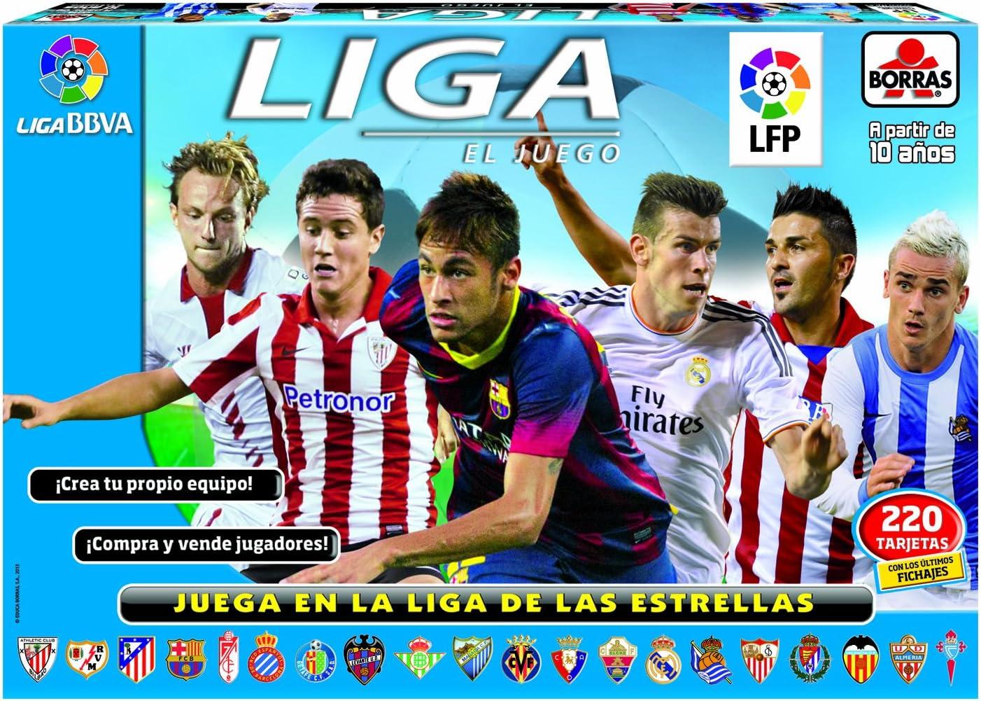 Educa Borrás - El Juego de la Liga 2013-2014, Juego de Mesa (15754): Amazon.es: Juguetes y juegos