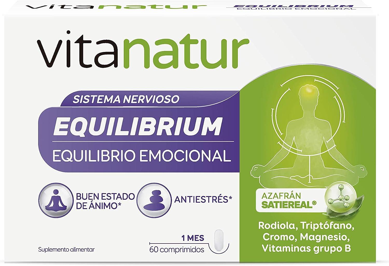 VITANATUR EQUILIBRIUM 60 Comprimidos - Complemento alimenticio ...