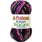 Patons Kroy Socks Yarn, Mulberry Stripes