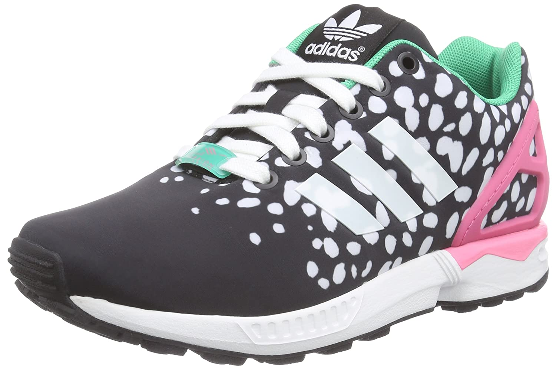 Adidas ZX Flux, Zapatillas Deportivas 37 1/3 EU Negro (Cblack/Ftwwht/Sesopk)
