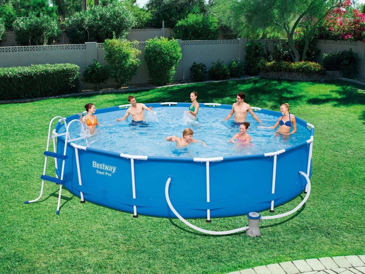Bestway Piscina Tubular - Ø 4.27 x 0.84 m: Amazon.es: Jardín