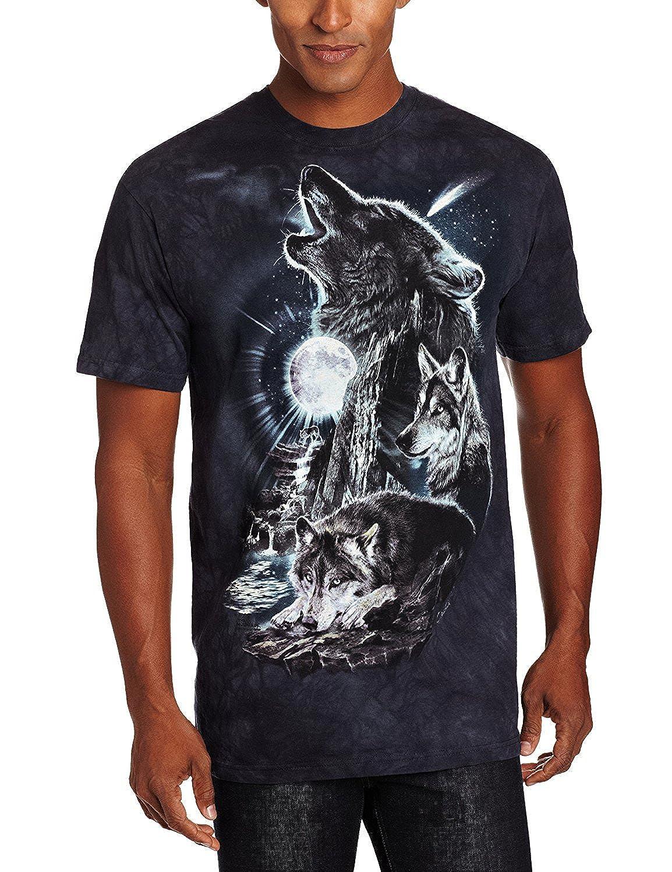 56753c4db6b1 Top6  The Mountain Men s Bark At The Moon Short Sleeve T-Shirt