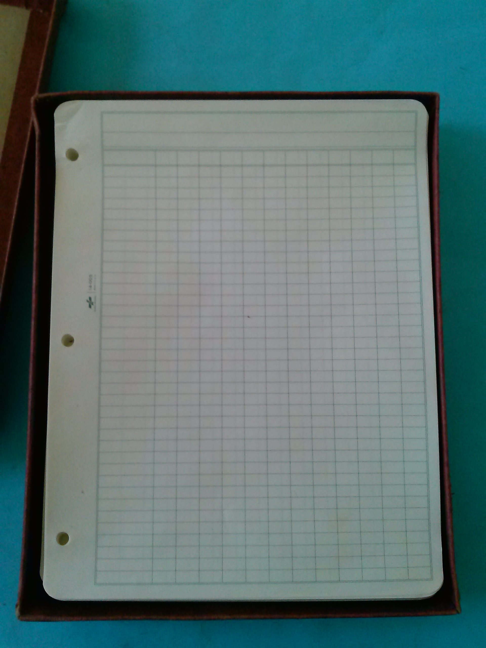National 14-003 Recapitulation Filler Sheets 12 Columns 8 1/2'' x 11'' Sold in Packages of 50 Sheets