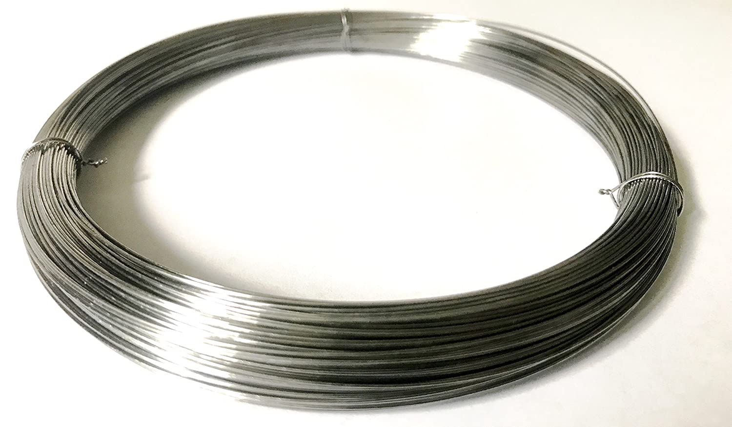 Mill Finish #2B Grade #2B Smooth Full Hard Temper Meets ASTM A228 Specifications Smooth Finish 0.029 Diameter 446 Length High Carbon Steel Wire Precision
