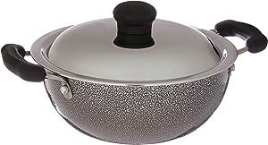 Prestige Manttra Omega Select Plus 200 Deep fry pan, Kadai, Indian kadhai, Small, Black