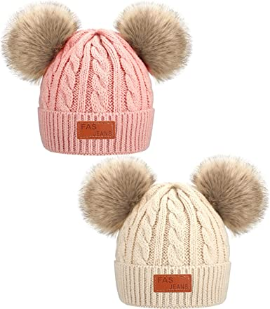 Women/'s hats children/'s hats from newborn adult sizes Pink Knitted winter hats for all ages mens hats pom pom hat