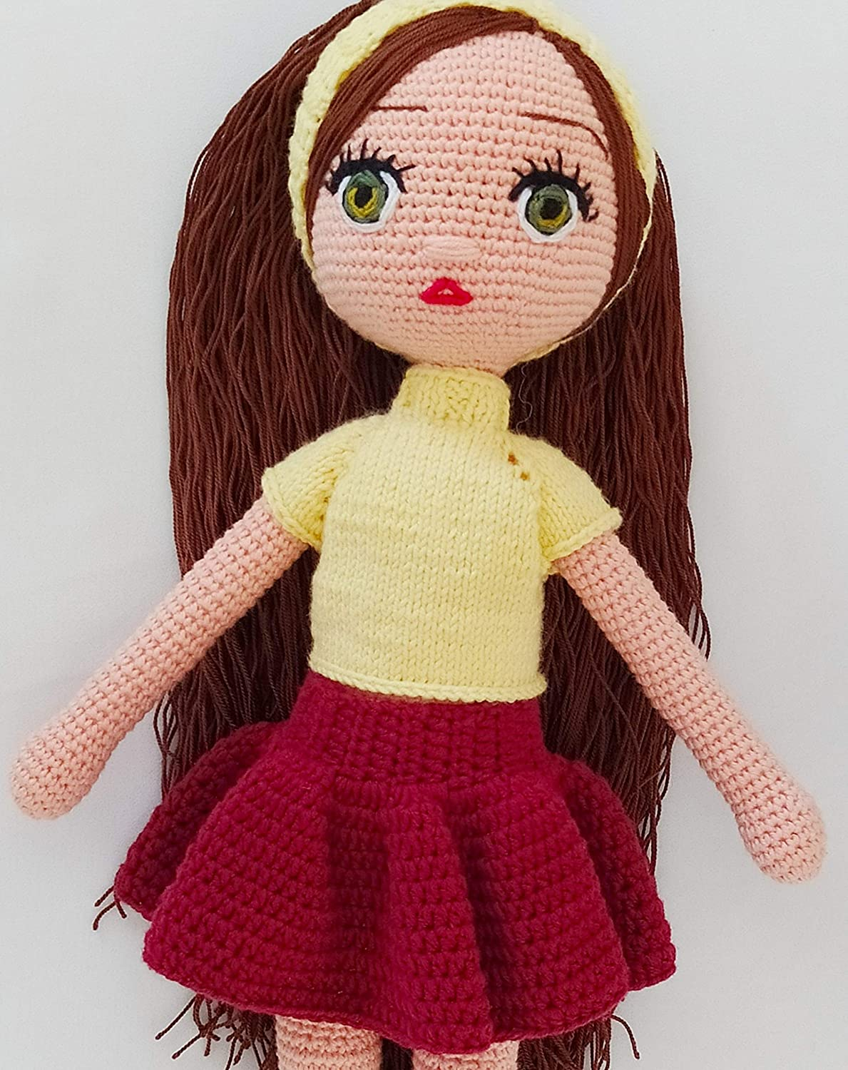Greathappy Amigurumi Baby - Crochet and Knitted Baby Toys – Handmade - Stuffed Toys - A Beautiful Gift