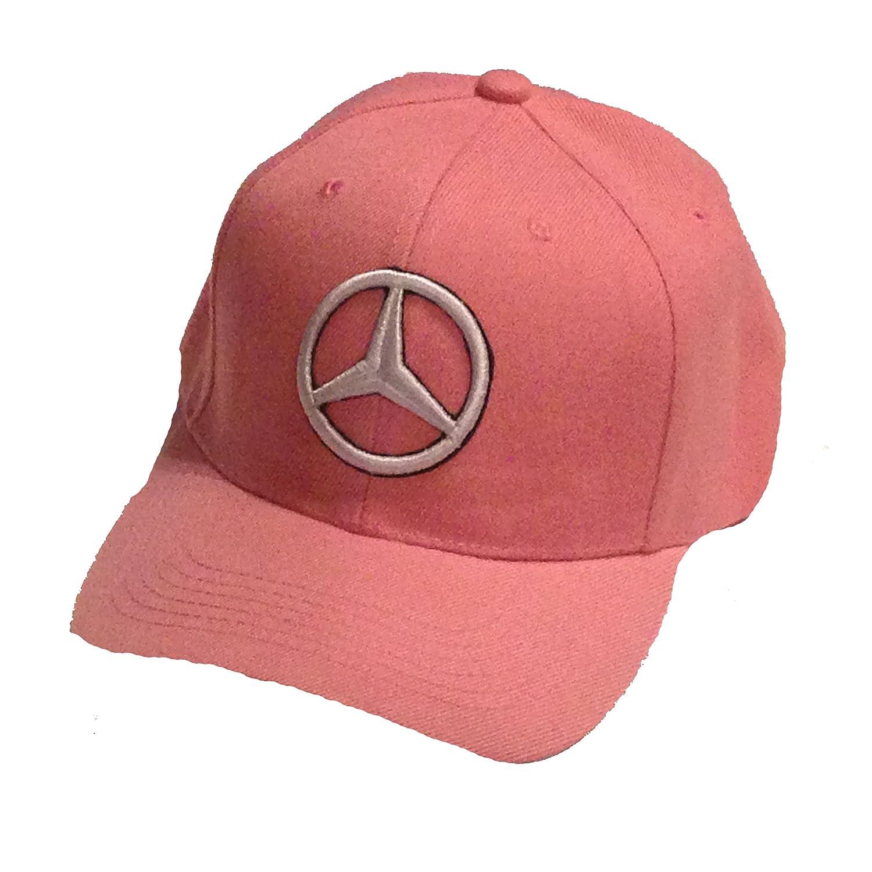 b307baea Amazon.com: Mercedes Benz Baseball Cap Hat Pink. 3D embroidered. Adjustable.  New!: Everything Else