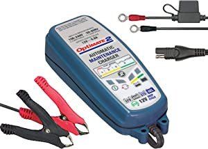OptiMATE 2, TM-421, 4-step 12V 0.8A sealed battery charger & maintainer