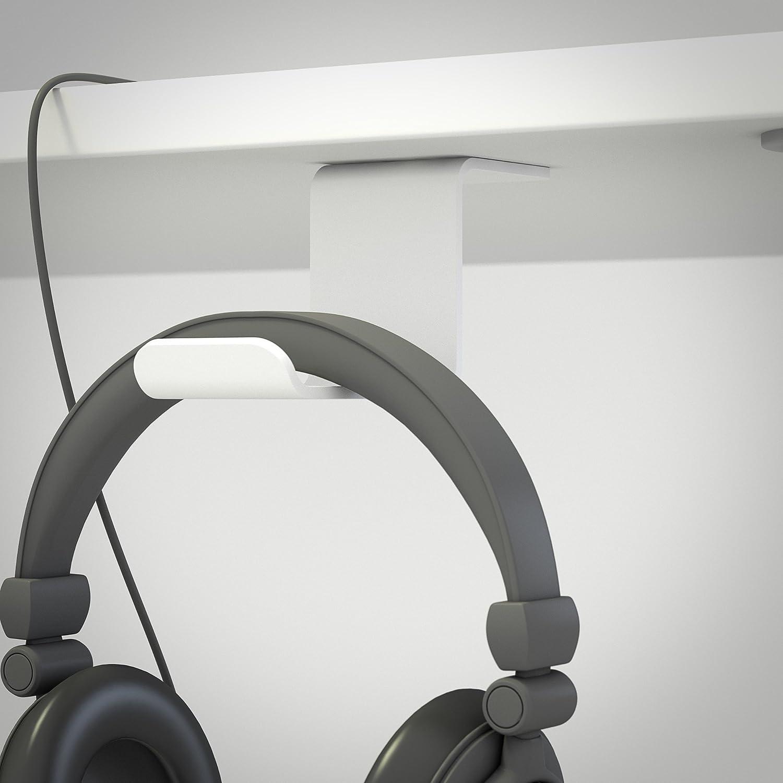 Multibrackets - Soporte de Auriculares para Debajo de la Mesa ...