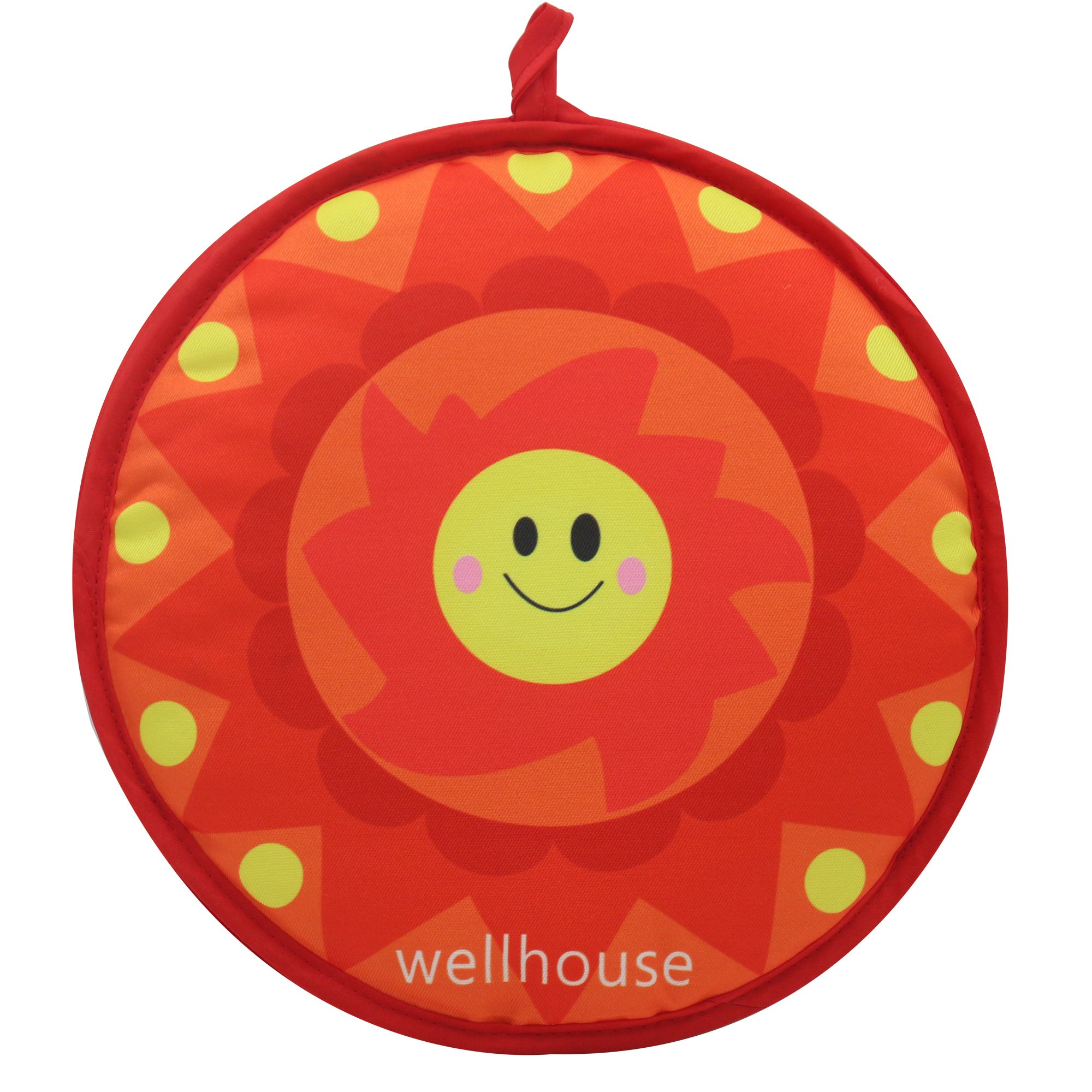 wellhouse Tortilla Warmer 12 Inch Insulated Microwave-Safe Fabric Pouch to Keep Warm for up to 1 hour(TW-sun) by wellhouse