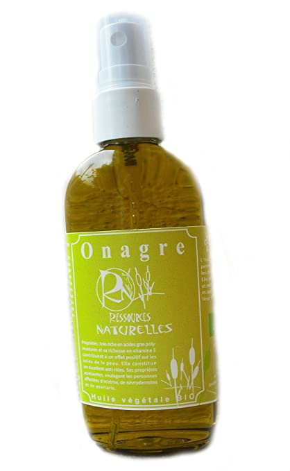 aceite vegetal orgánico de onagra 100ml