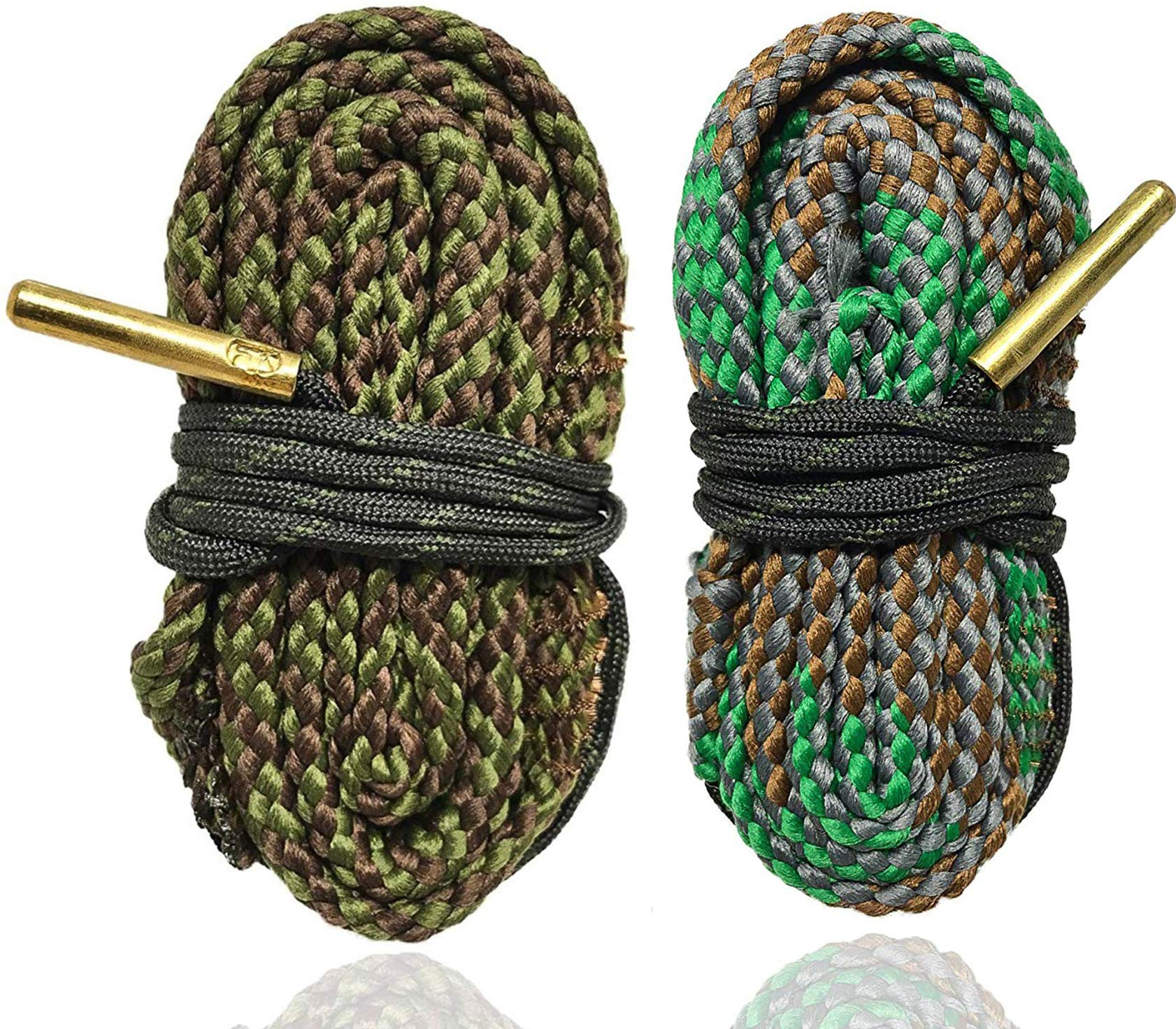Cobra Bore Snake Combo 45 and 40 Caliber 2 Pack - Clean Your Barrel Fast and Easy Bore Snakes by Cobra