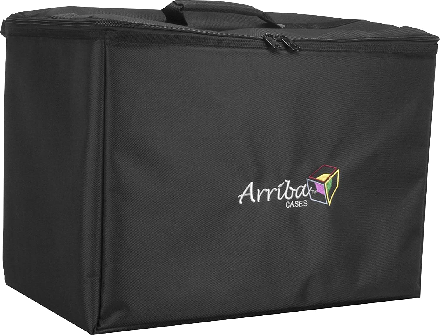 Arriba Padded Multi Purpose Case Atp-22 Top Stackable Case Dims 22X12X15 Inches