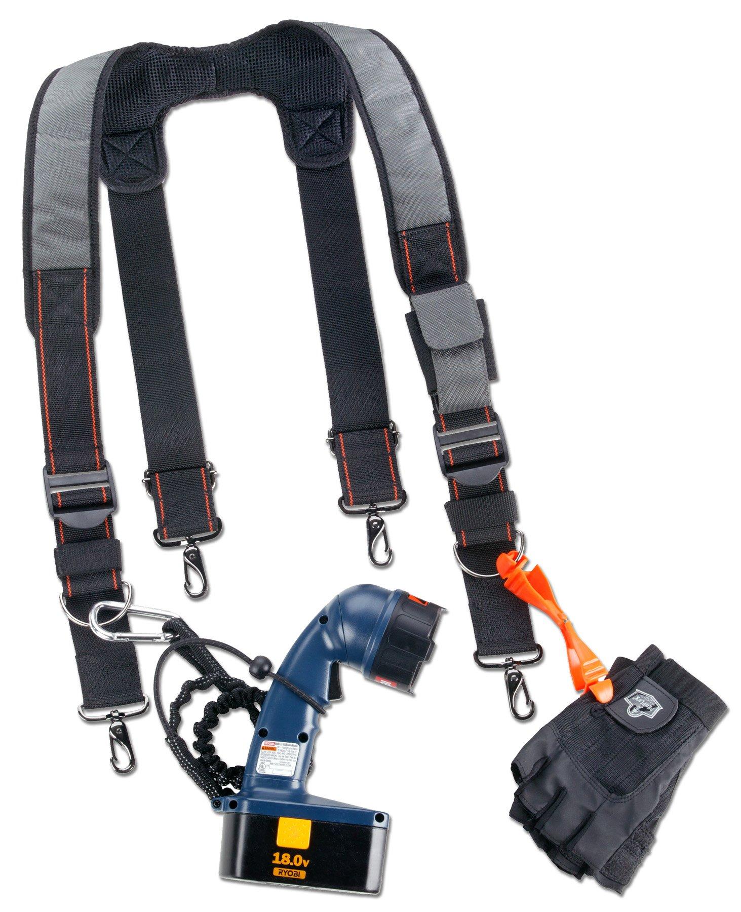 Ergodyne Arsenal 5560 Tool Belt Suspenders, Padded Shoulders, Adjustable by Ergodyne (Image #2)